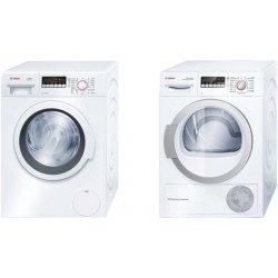 Set domácích spotřebičů Set Bosch- WAK 24268BY + a WTB66200BY