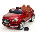 Daimex Elektrické dětské elektrické autíčko Audi Q7 s DO FM vínová metalíza