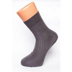 Bambox 100% bambusové zdravotní ponožky šedá 07424e2db8