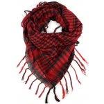 Arafat Arabský šátek Palestina Jing Jang světle červený dbeedff503
