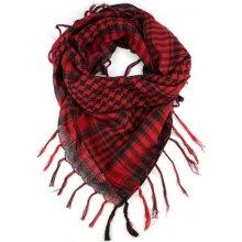 Arafat Arabský šátek Palestina Jing Jang světle červený 191c0b4239