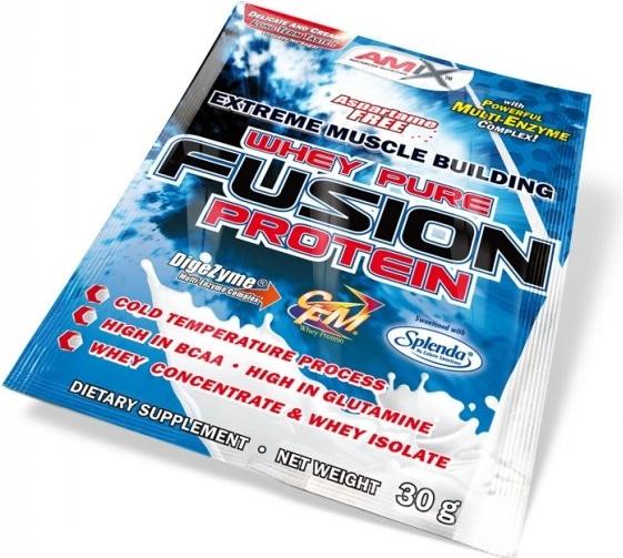 Výsledek obrázku pro Amix Whey Pure Fusion Protein 30 g