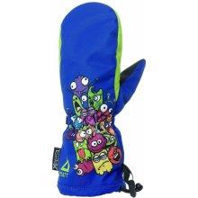 e6e09725810 Matt Chlapecké lyžařské rukavice s příšerkami 3215 - modré