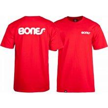 Bones SWISS TEXT RED