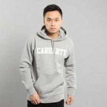 Carhartt WIP Hooded College Sweat melange šedá