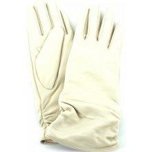 714fd6cef19 Every dámské kožené rukavice krémová