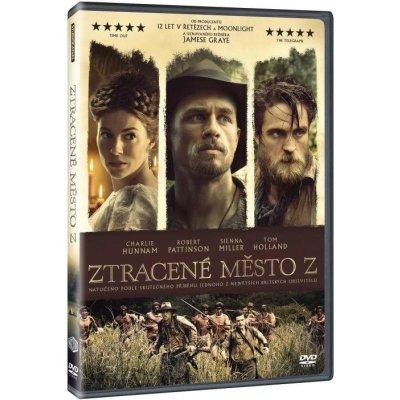 Ztracené město Z: DVD