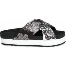 Desigual pantofle Okinawa Xupi černá