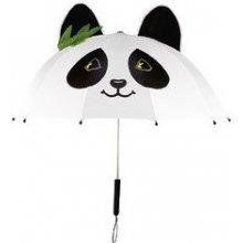Blooming Brollies Dětský deštník s pandou - bílý