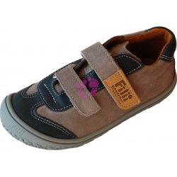 Dětská bota Filii barefoot Leguan Grey Stone velur 74326d2b6a