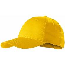 Sunshine čepice unisex s odtrhávací etiketou ADLER žlutá a0d926d4be