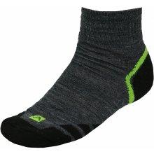 Alpine Pro ponožky GENTIN USCK023 ZELENÁ