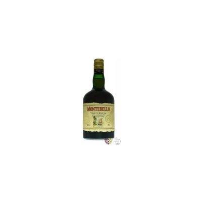 """Montebello agricole vieux """" 8 ans Vintage """" aged rum Guadeloupe 42% vol. 0.70 l"""