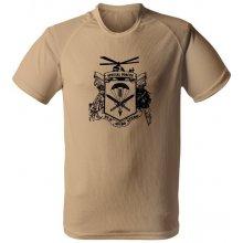 Funkční tričko 601. skupiny speciálních sil písková 7d5481c59e