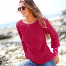 03327ab3b73 Blancheporte Jemný pulovr třešňová