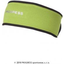 Progress TS CES zapínací funkční zimní čelenka Zelená 1cf7125034