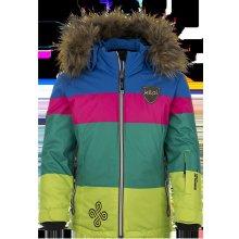 Kilpi Eufana JG dětská zimní lyžařská bunda zelená