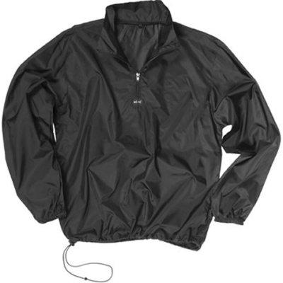 Mil-Tec bunda Windshirt lehká větrovka Černá