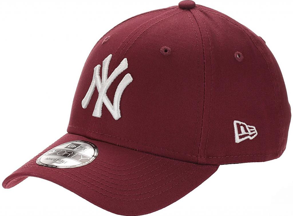 New Era 9FO League Essential MLB New York Yankees Cardinal White od 319 Kč  - Heureka.cz be544eef41