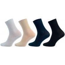 Novia ponožky Medic 100% bavlna bílá b6e787636a