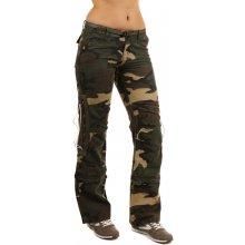 82c47db4bd5 TopMode Dámské maskáčové kalhoty 2v1 zelená