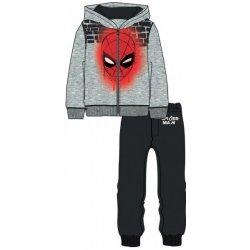 Disney by Arnetta chlapecká tepláková souprava Spiderman šedá modrá ... 84b8279ef34