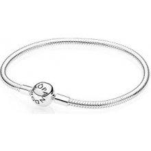 Pandora Pevný stříbrný náramek 590728
