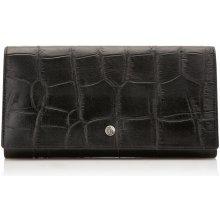 Castelijn & Beerens Dámská kožená peněženka RFID 463386 ZW černá
