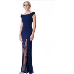 Společenské dlouhé šaty s flitry modrá od 1 699 Kč - Heureka.cz 1f753f9d0a
