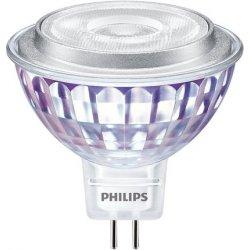 Philips LED žárovka MR16 GU5,3 7W 50W denní bílá 4000K stmívatelná, reflektor 12V