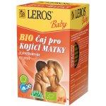 Recenze Leros Baby BIO Čaj pro kojící matky s jestřabinou 20 x 2 g