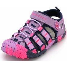 9667f46abcfe Alpine Pro Lancastero dětské sandály růžové