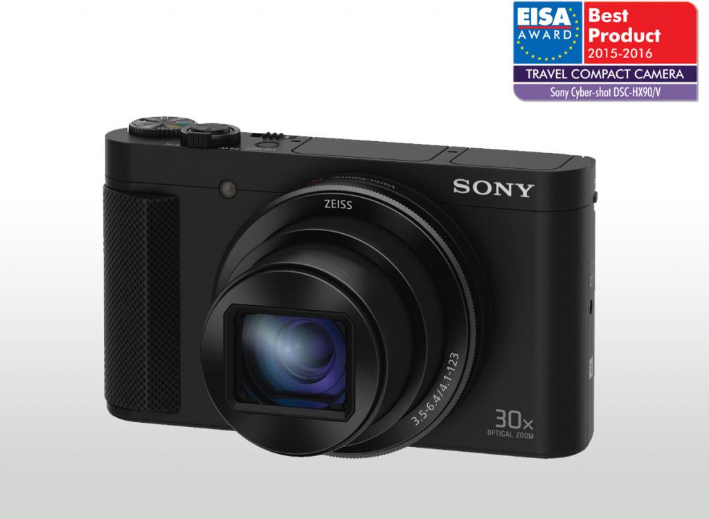 SONY DSC-HX90V Cyber-Shot 18,2 MPix, 30x zoom - černý DSCHX90VB.CE3 návod, fotka