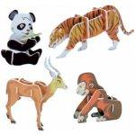 Hütermann 3D puzzle skládačka Zvířátka II Asie 2577