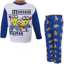 Pyžamo Mimoni Ep2183 modro bílá