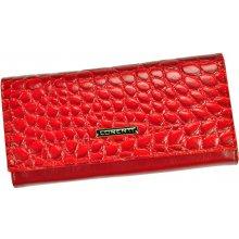 Lorenti Dámská kožená peněženka 72401 WR červená