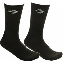 Converse ponožky Classic Star Chevron Crew 2 Pack - E726B Black White Black 2e48b7f94f