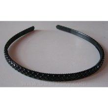 Bižuterie Lerch Čelenka úzká (L016), černá