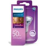 Philips LED žárovka 5,5W 50W GU10 Teplá bílá DIM
