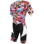De Soto Riviera Flisuit FLAG PRINT Pánská triatlonová kombinéza ff11100674c