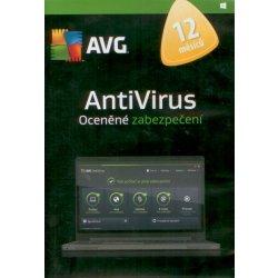 AVG AntiVirus 2016, 1 lic. 1 rok SN DVD (AVCEN12DCZS001)