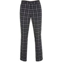 GOLFINO Checked Stretch Golf Trousers 2017 šedá,