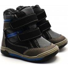 b2f7b2e0206 V+J Chlapecké zimní boty - tmavě šedé
