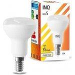 INQ LED žárovka E14 refl.R50 5W Teplá bílá
