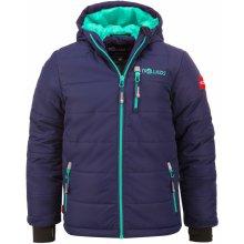 Trollkids chlapecká zimní bunda Hemsedal tmavě modrá