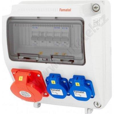 042802e0a FAMATEL V155 ZSF 20100000.V /3957 zásuvková skříň, IP44 | Srovnanicen.cz