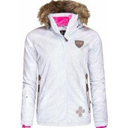 Dámská bunda a kabát Kilpi dámská snowboardová bunda HELGA bílá