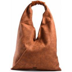 39429860f9 Bright Fashion kabelka vak velká A4 přes rameno hnědá-rezavá ...