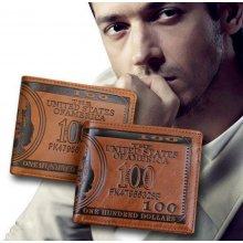 Pánská peněženka 100 dolarovka