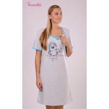 Vienetta mateřská těhotenská kojící noční košile